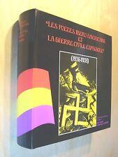 Colomer Les poètes ibero-américains la guerre civile espagnole Guerre d'Espagne