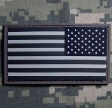 3D PVC USA US UNITED STATES AMERICAN FLAG TACTICAL ISAF ACU LIGHT REVERSE PATCH