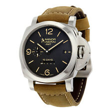 Panerai Luminor 1950 10 Days GMT Black Dial Mens Watch PAM00533