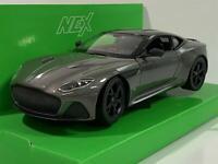Aston Martin Dbs Superleggera Gris 1:24 Echelle Welly 24095