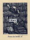 Edward Gorey Ex Libris Bookplate Antioch Publishing 1953