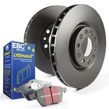 EBC Rear Brake Discs & Ultimax Pads Kit For VW Golf Mk7 Gti PP Performance Pack