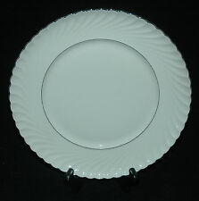ROYAL TETTAU CHINA DINNER PLATE ANNETTE PLATINUM PATTERN