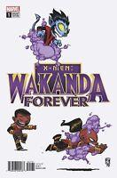 X-Men: Wakanda Forever No. 1 Variant Cover - Skottie Young Marvel 2018