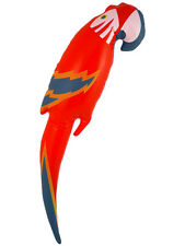 Inflatable Blow Up Parrot 75cm Pinata Pirate Hawaiian Party Bag Fillers Kids New