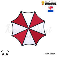 RESIDENT EVIL UMBRELLA CORPORATION Embroidered Iron On Sew On Patch Badge