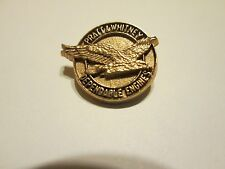 PRATT & WHITNEY..DEPENDALE ENGINES..GOLD TONE METAL PIN....