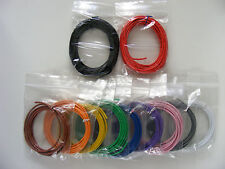 28M 32/0.2 mm attrezzature FILO -17 AWG * - 1500V 6A @ 70c - 1,0 mm ² - GANCIO-bloccati
