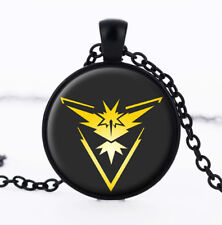 Pokemon GO Team Instinct Necklace