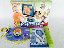 Fisher Price MY TOON TV Interactive Game with Camera and Mic in Box - EUC