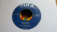 The Delegates 45 Hainty/The Peeper Aura 4510 Jazz Funk Northern Soul
