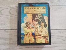 Vintage Treasure Island Robert Louis Stevenson First Edition NC Wyeth 1931 Book
