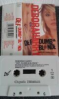 Def Dumb & Blonde Deborah Harry .Contains 2 bonus Tracks. Sweet Kiss Comic  1989