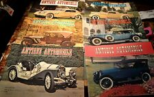 ANTIQUE AUTOMOBILE 11 MAGAZINES 1970'S   ANTIQUE AUTOMOBILE CLUB OF AMERICA