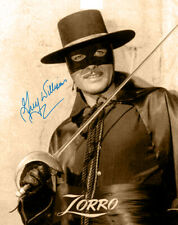 Zorro! Guy Williams 50's Hit Tv Series 8x10 Photograph Autograph Rp