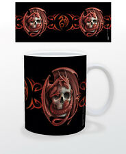 ANNE STOKES SKULL EMBRACE 11 OZ COFFEE MUG ARTIST BOOK COVERS TEA CUP ROCK METAL