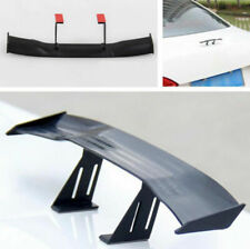 Vehicle Car 17cm Model Carbon Fiber Look Tiny Mini Rear Wing Spoiler Decoration