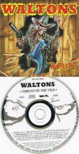 Country Metal CD (Punk) – Waltons – Thrust Of The Vile (13 Track Album, 1991)