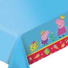 1psc Tablecloths Polyethylene Peppa Pig Birthday Party Favors Party Supplies