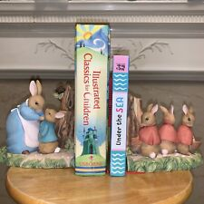 Beatrix Potter Mrs. Rabbit Bookends