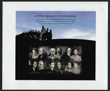 2008 Civil Rights Pioneers Sc 4384 full sheet of 6 stamps FDC