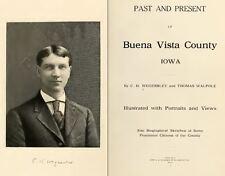 1909 BUENA VISTA County Iowa IA, History and Genealogy Ancestry Family DVD B38