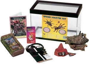 Spider Starter Kit. Perfecto Vivarium / Terrarium + Contents With Book URP018