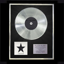 DAVID BOWIE BLACKSTAR   CD PLATINUM DISC VINYL LP FREE SHIPPING TO U.K.