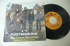 "FLEETWOOD MAC""THE GREEN MANALISHI- disco 45 giri REPRISE It 1970"""