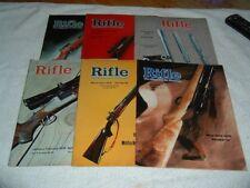 rifle magazine 1978 #s 55, 56, 57, 58, 59, & 60 excellent condition