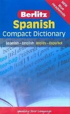 Spanish Compact Dictionary: Spanish-English Ingles-Espanol (Berlitz Compact Dict
