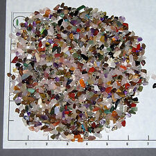 GEMSTONE MIX 5-11mm, tumbled 1/2 lb bulk stones xmini+, quartz jasper tigereye