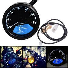 Neu Universal Motorrad Tacho Kilometerzähler Tachometer LED Kontrollleuchten