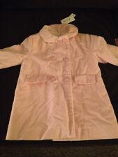 Simonetta Pink 100% Cotton Velvet Coat (Size 12 Month) MSRP:  $279.00