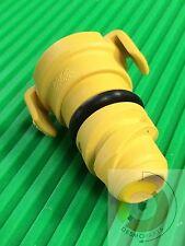 Ford 6.7L Oil Drain Plug F250 F350 yellow plastic drain cam plug with gasket