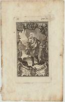 RUSSLAND Alexander-Newski-ORDEN Original Kupferstich um 1780 Adel Ritter Orden