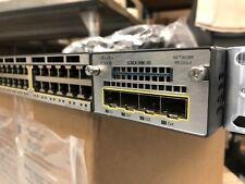 Cisco WS-C3750X-48P-L 3750X Series Cisco 48 port PoE+ PoE Switch + C3KX-NM-1G