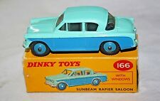 Dinky #166 Sunbeam Rapier, VNM in Original Box