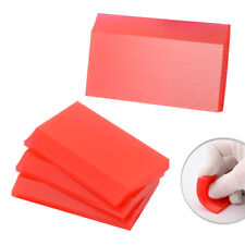 4 Pc Mini Rubber Squeegee for Cleaning Resin 3D Printers SLA PET Film No Scratch