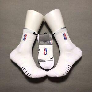 Nike NBA Elite Quick Socks  - White/Black  - Ankle/Mid/Full Length