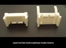 """COPPIA 2 ADATTATORI XENON PORTA LAMPADINA H7 SPECIFICO """"FORD FIESTA 7"""" 2013-2017"""