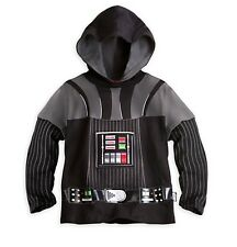 Disney Store Star Wars Darth Vader Hooded T Shirt  4 NEW The Force Awakens