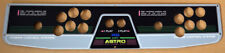 NEW Stainless Steel Control Panel SEGA ASTRO CITY Arcade Candy Cabinet