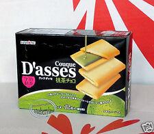 Japan Sanritsu Couque D'asses langue de chat cookies maccha green tea snack kids