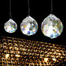 Rainbow Suncatcher Crystal Ball Prism Feng Shui Faceted Pendant Drop Hanging 1PC