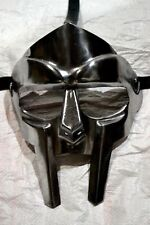 Steel Roman Gladiator Helmet Face Mask Mf Doom Medieval Re-enactment Viking Mask