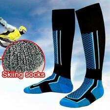Women/Men Ski Socks Keep Warm Long Tube Mountaineering Sports Outdoor B5W7