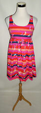 Womens Size 4 (fits size 2 also) H&M Empire Waist Sundress, Bright Summer Print