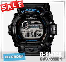 BRAND NEW WITH TAG LIMITED G-SHOCK WATCH GWX-8900-1 G-LIDE BLACK COLOR