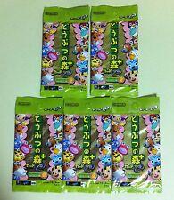 5 Packs Doubutsu no Mori + Card e Collection Series 2 Animal Crossing JAPAN NEW